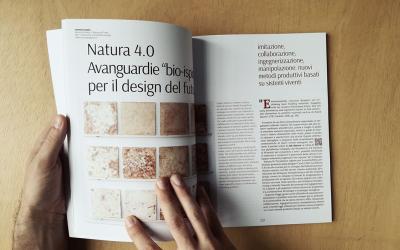 """Natura 4.0. Avanguardie """"bio-ispirate"""" per il design del futuro"""